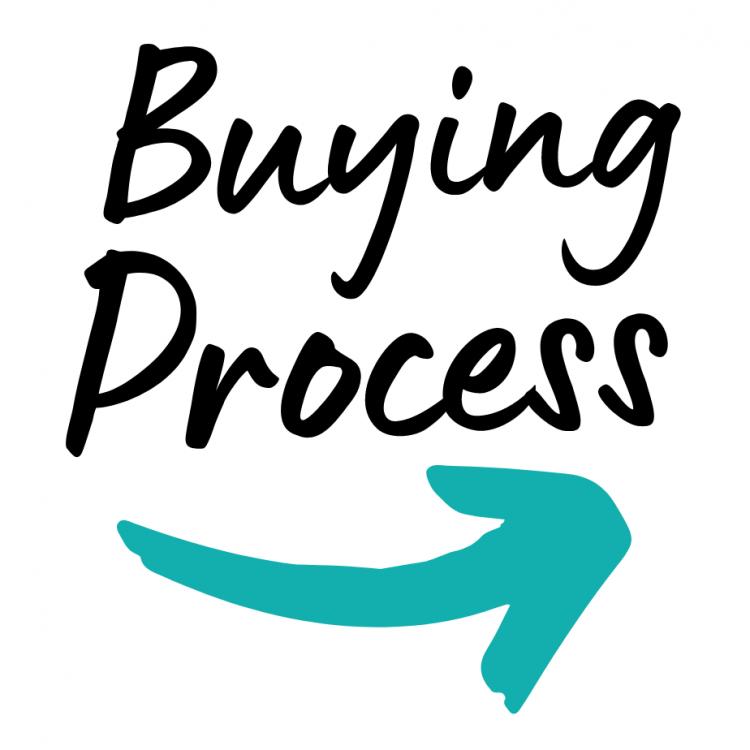 _Buying Process w teal arrow